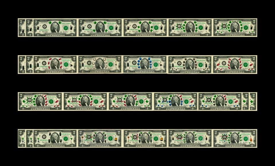 Variations on Lucky Two-dollar Bills